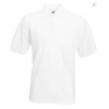 Tricou Polo 65/35 Fruit Of The Loom Alb
