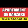 """Banner  """"Apartament de vanzare"""""""