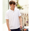 Tricou Polo 100% bumbac Fruit of the Loom alb